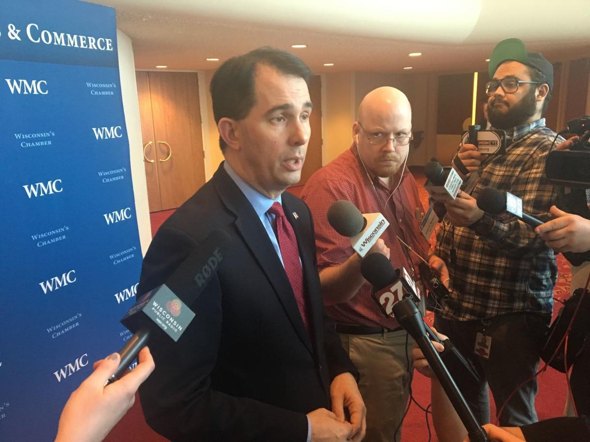 Scott Walker working on legislative package to address school safety