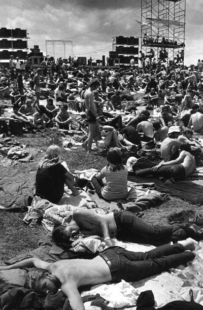 Iola rock festival, 1970