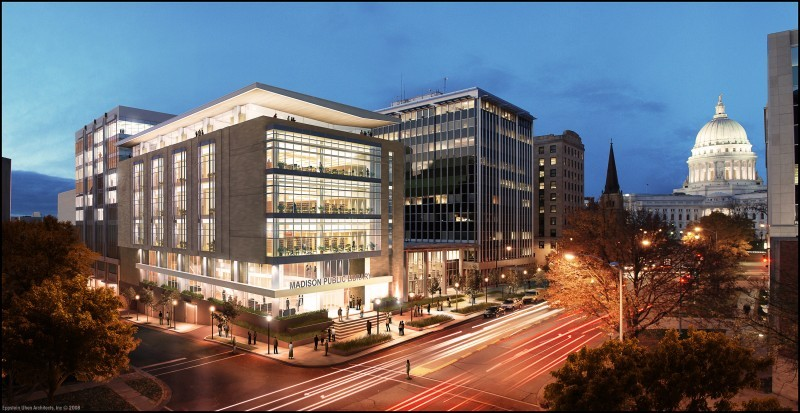 Central Library rendering