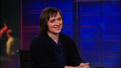 Sarah Vowell on the Daily Show