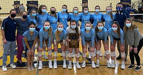 WIAA state girls volleyball photo: McFarland team photo