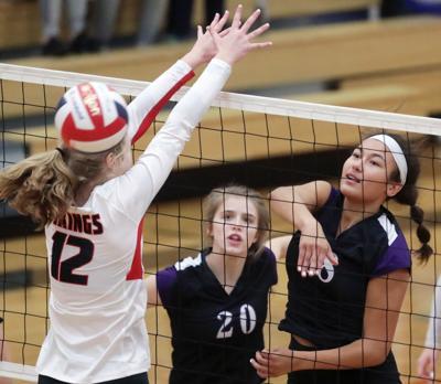 Prep girls volleyball photo: Waunakee vs. Mount Horeb