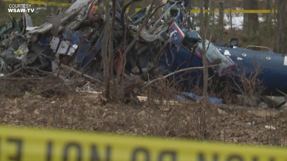 3 people killed in medical helicopter crash in northern