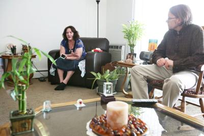 Debra Scott with Jon Mack