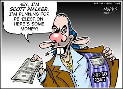 Walker tax rebate