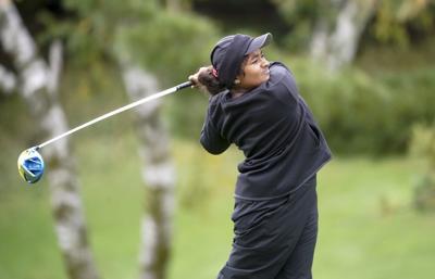 Prep girls golf: Madison Edgewood's Anaka Leske