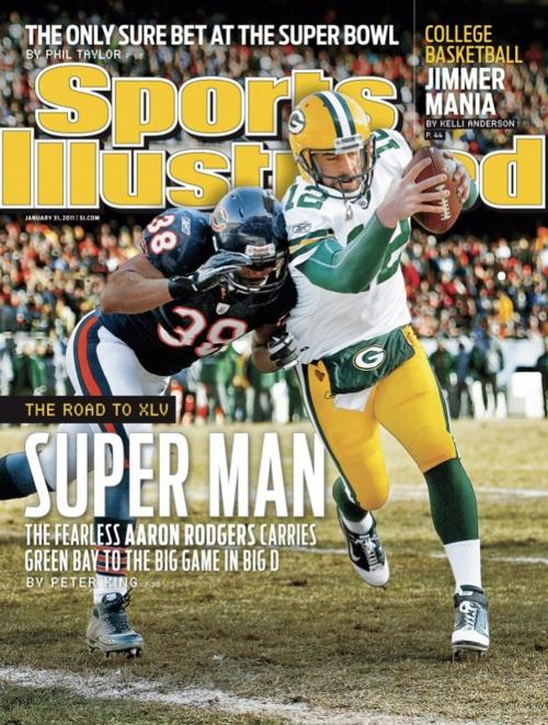 Aaron Rodgers on SI cover
