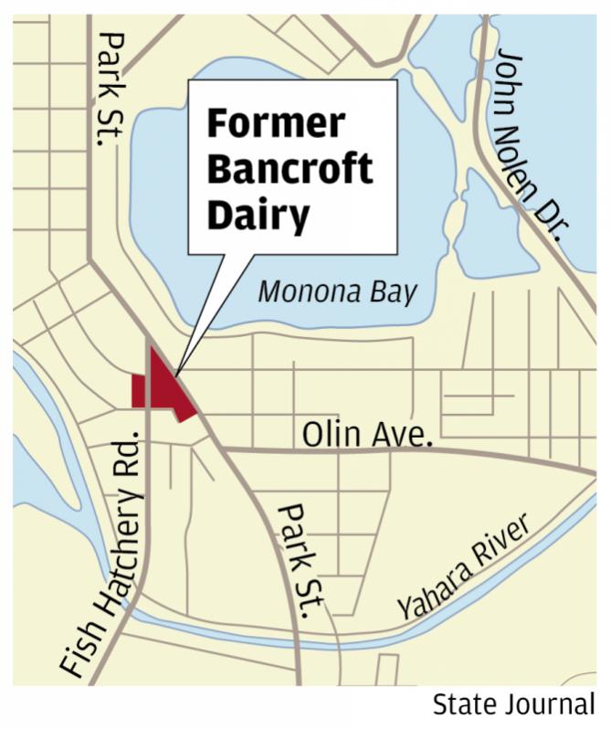 Bancroft Dairy Locator Map