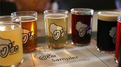O'so Brewing Company sampler