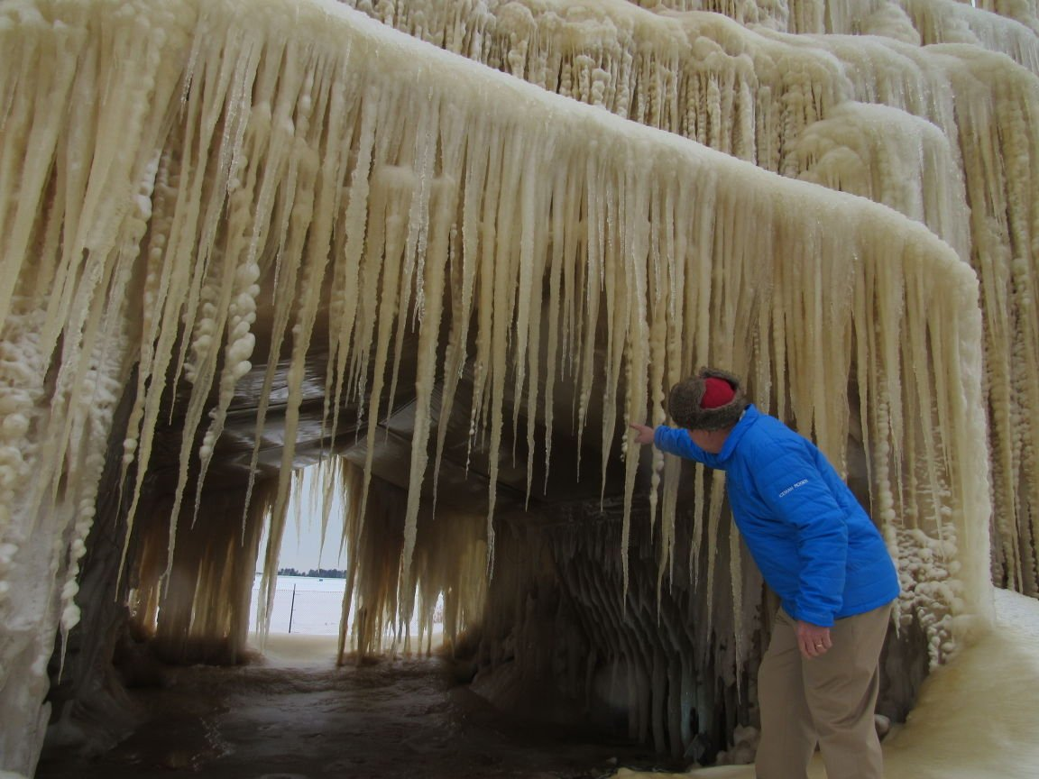 An Ice Cave In An El Niño Winter Local News Madisoncom