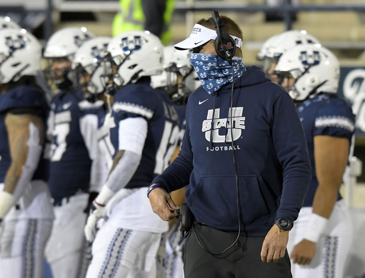Utah State coach Gary Andersen, AP generic file photo