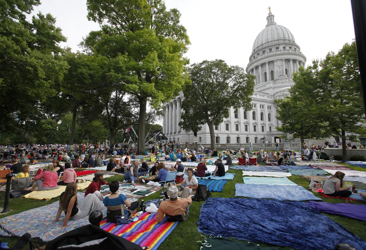 Madison Wi Exactly How Many Square >> The Musical Force Awakens As Concerts On The Square Launches