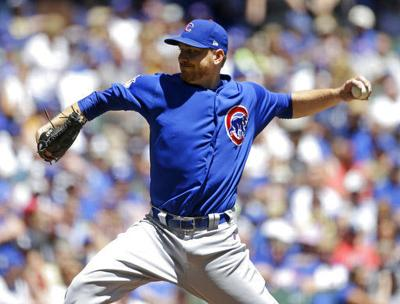Cubs Mike Montgomery, AP photo