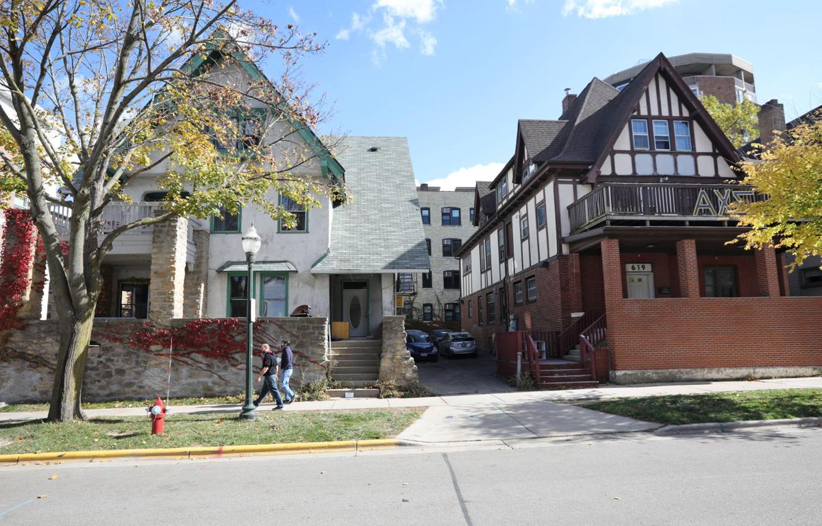 Fraternity houses