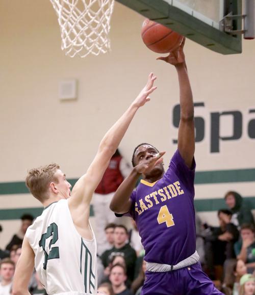 Prep boys basketball photo: Madison East's Anthony Washington