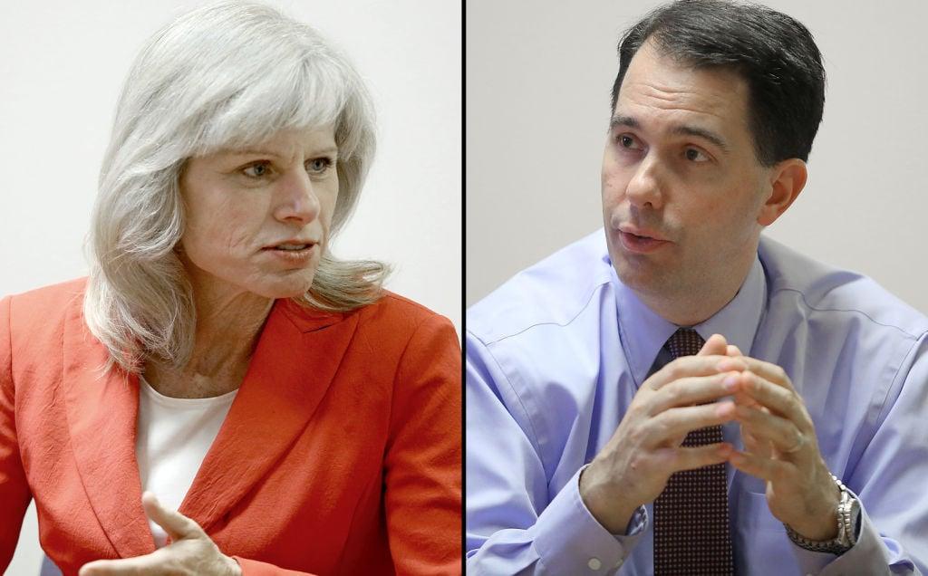 Mary Burke vs Scott Walker