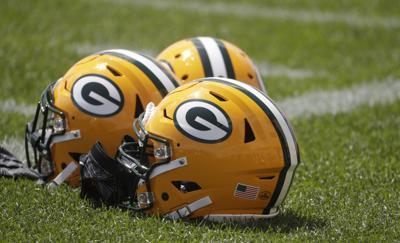 Packers helmets photo