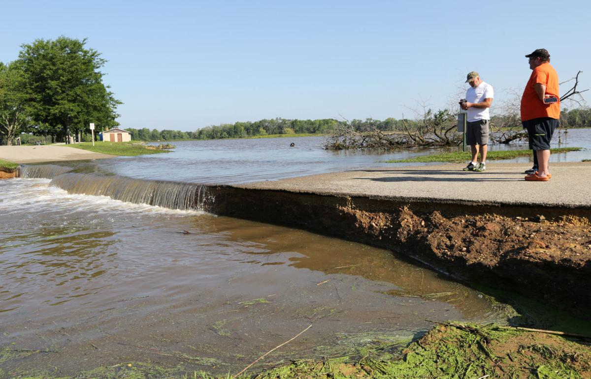 Belleville officials say dam is safe, being monitored | Local News