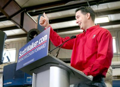 Scott Walker at Dane Manufacturing