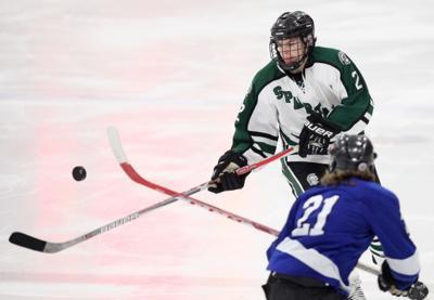 Prep boys hockey photo: Madison Memorial's Brandon Schaeffer