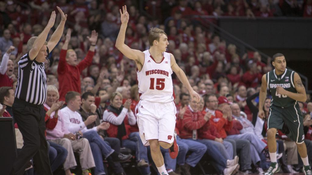 0e51ddaf9cc Badgers men's basketball: Reliance on 3-pointers plagues UW | Wisconsin  Badgers Men's Basketball | madison.com