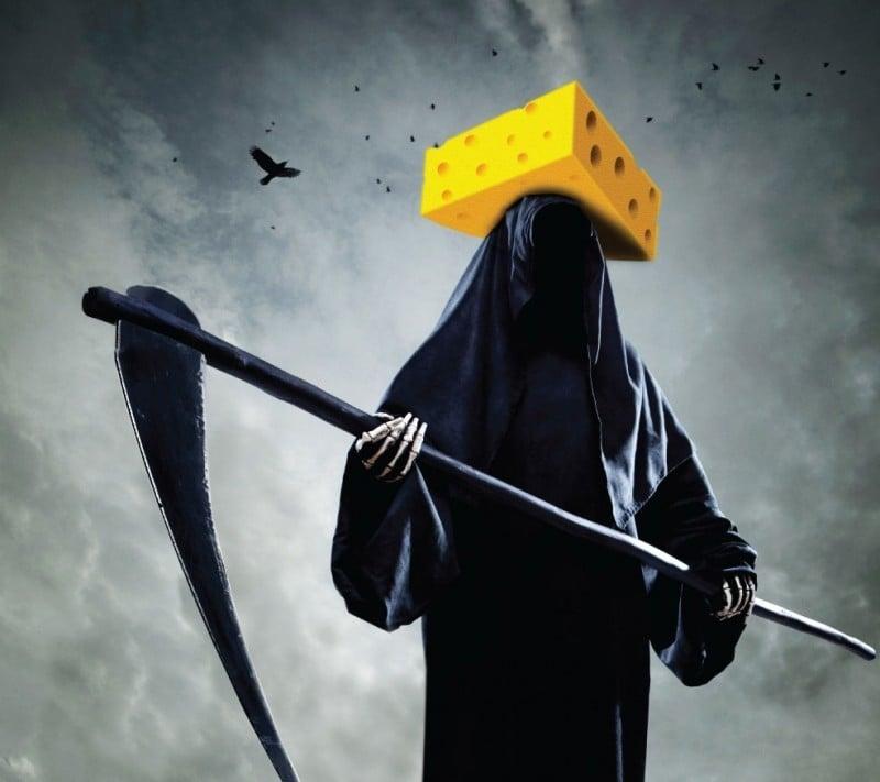 cheese billboard
