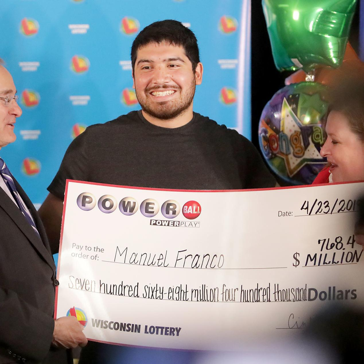 I Started Screaming West Allis Man 24 Is 768 Million Powerball Winner Local News Madison Com