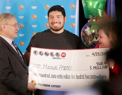 I started screaming': West Allis man, 24, is $768 million