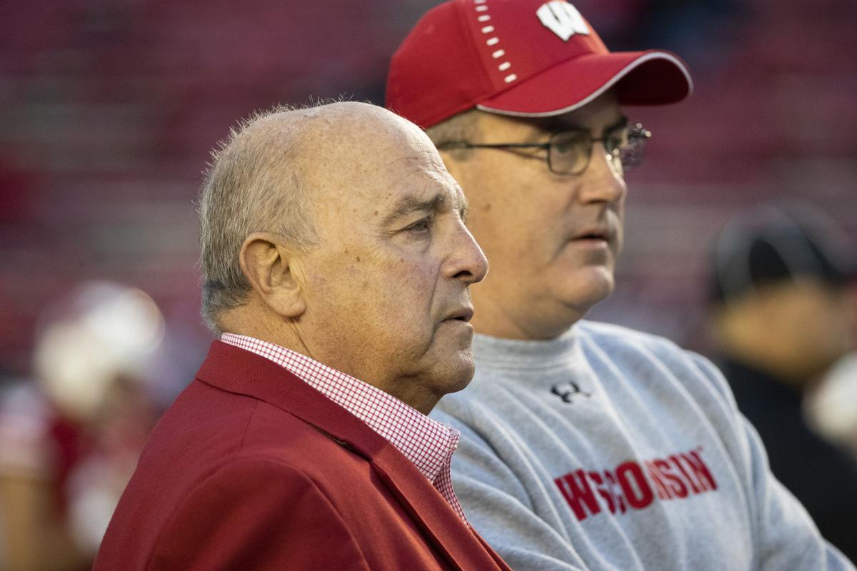 Barry Alvarez and Paul Chryst