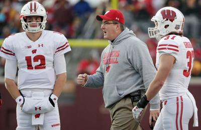Chryst Hornibrook Post Spring Depth Chart Wisconsin Badgers