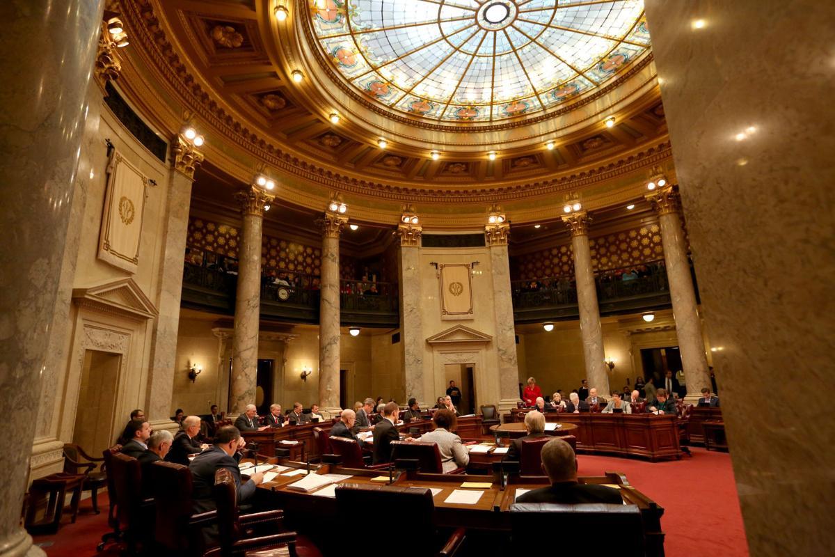 State Capitol Senate Chambers, Cap Times generic file photo (copy) (copy) (copy)