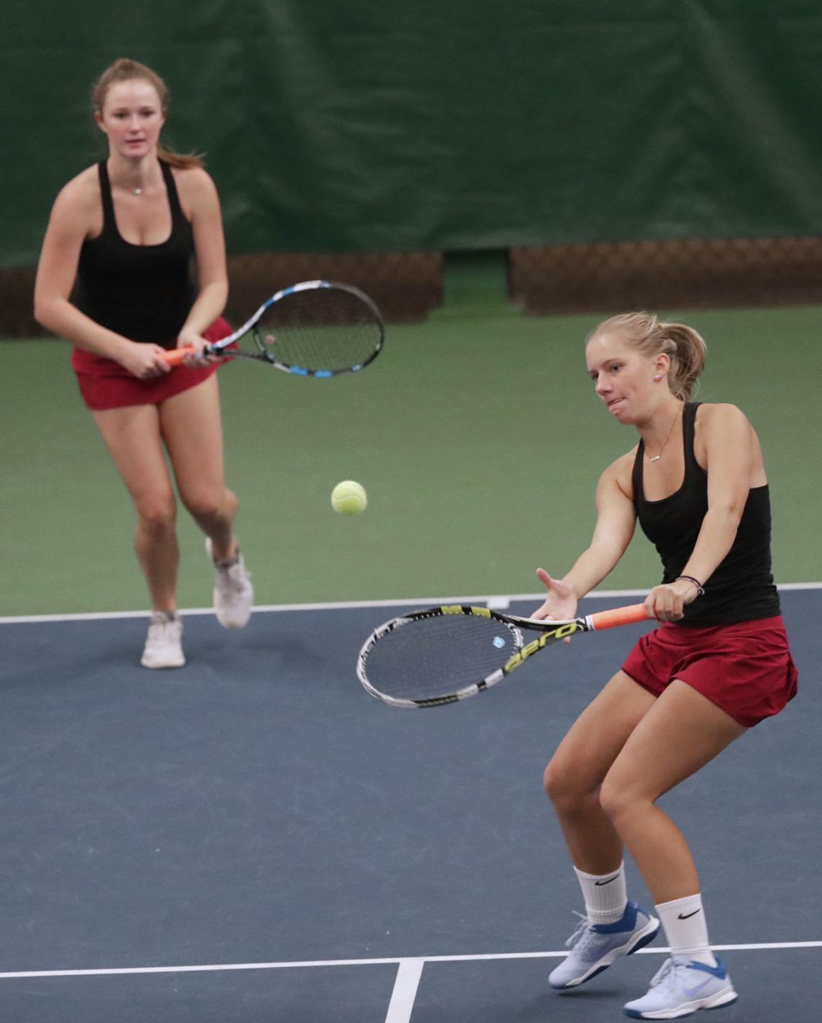 WIAA girls tennis: Middleton's top-seeded doubles pair of Karsen Dettman and Maddie Clark
