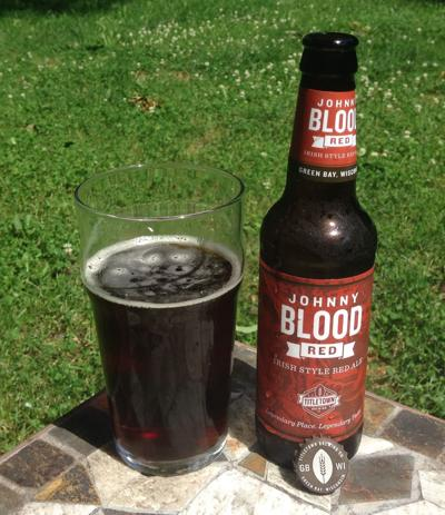 Titletown Johnny Blood Red