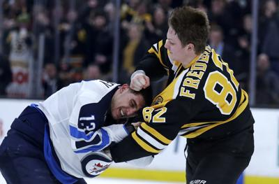 Trent Frederic fight