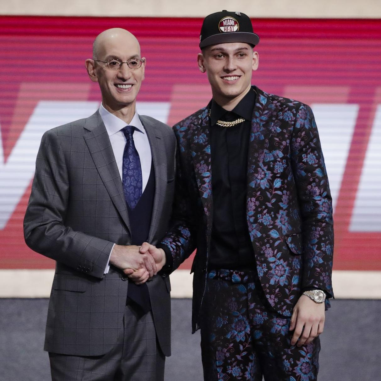 Once Nearly A Badger Tyler Herro Picked 13th Overall In Nba Draft By Miami Heat Basketball Madison Com