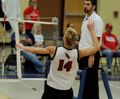 Prep boys volleyball photo: Middleton's Parker Van Buren