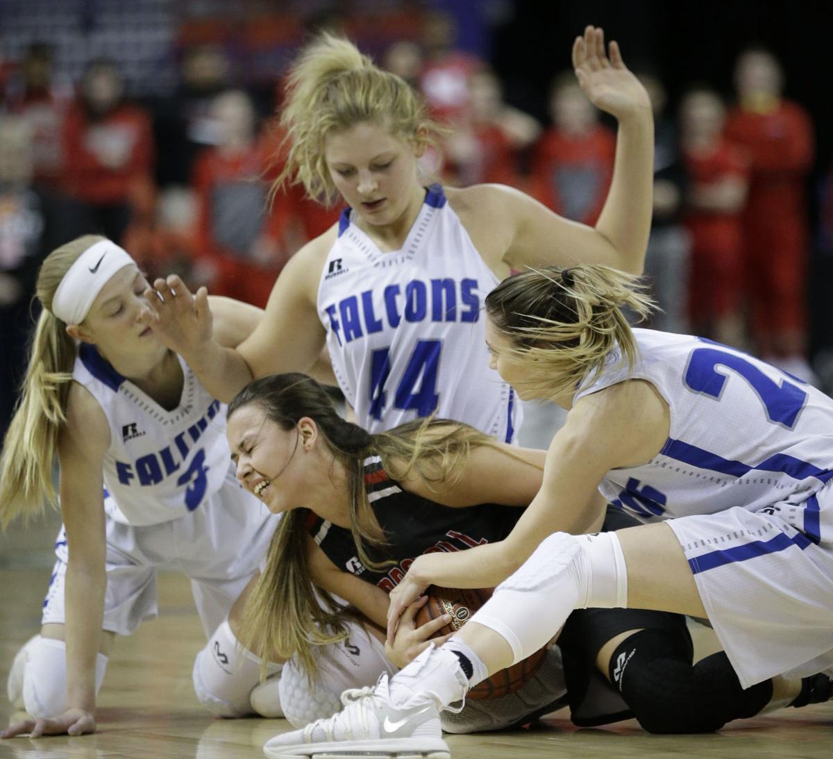 Prep girls basketball photo: Marshall's Mia Morel