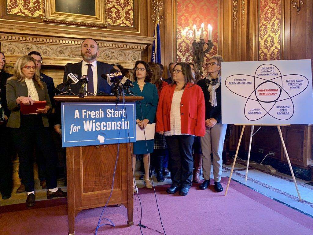 Democrats' Fresh Start press conference