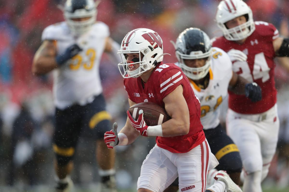 Badgers 48, Golden Flashes 0