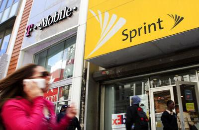 T-Mobile, Sprint stores, AP generic file photo