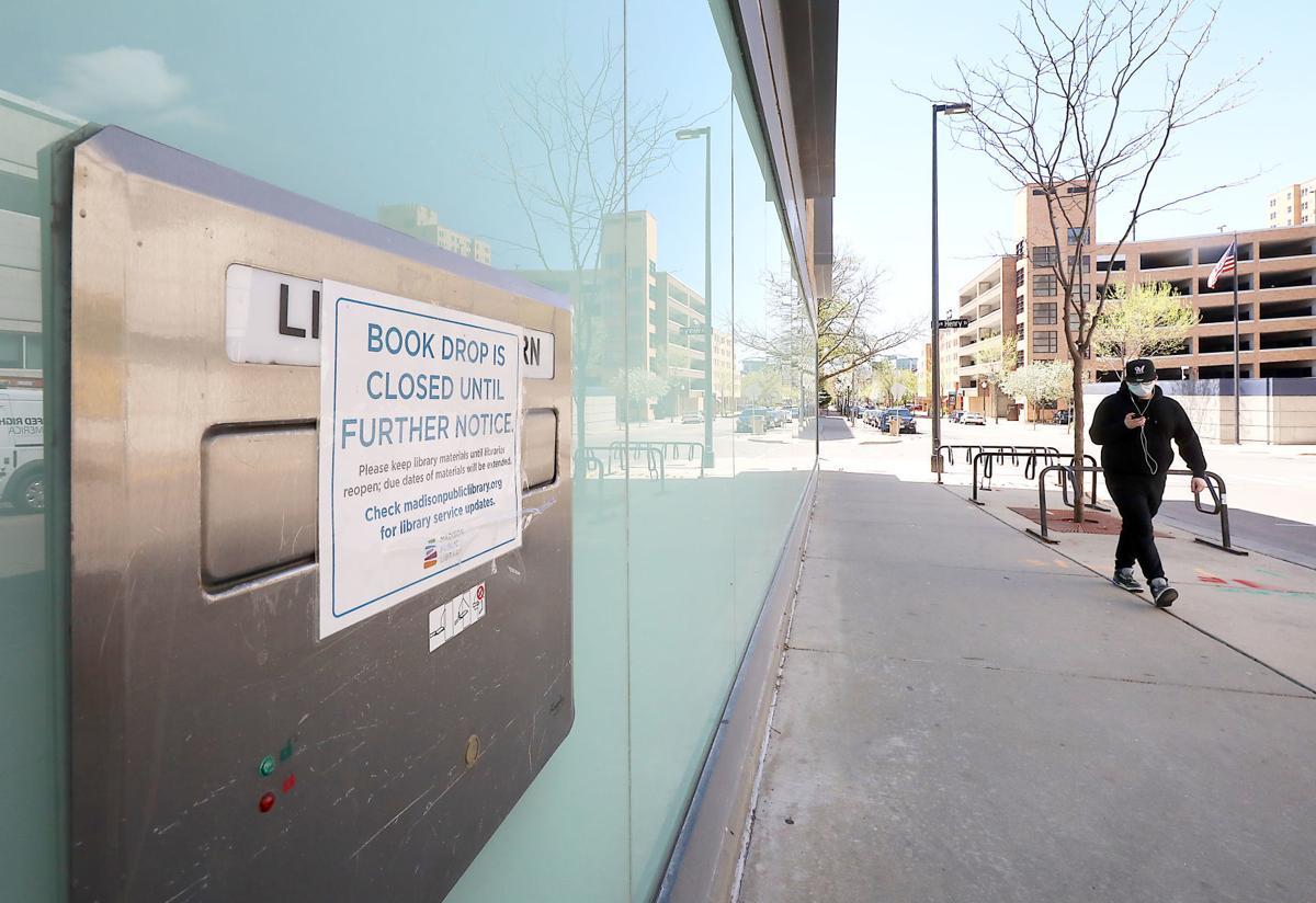 Madison closed book drop