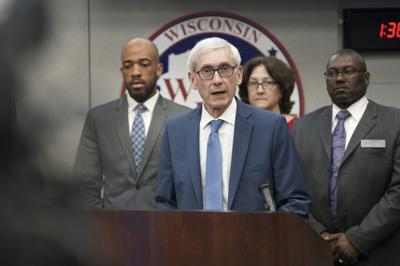 Evers news conference