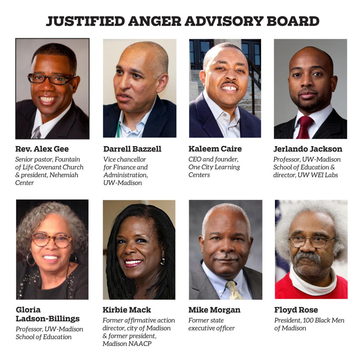 Justified Anger advisory board