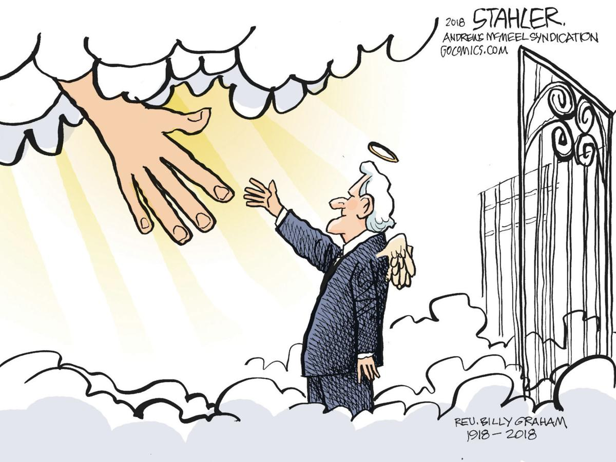 Editorial cartoon (2/25/2018)
