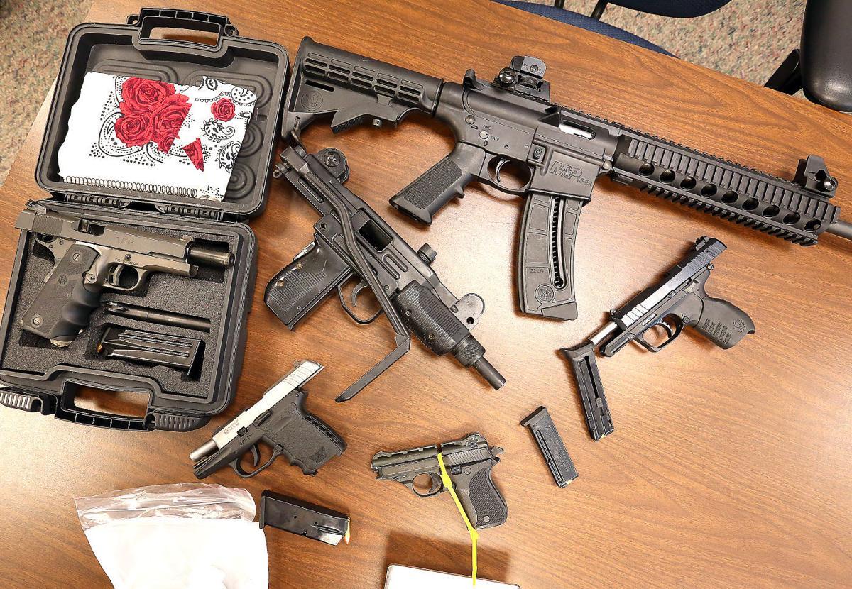 More firearms recovered during arrest in massive drug case