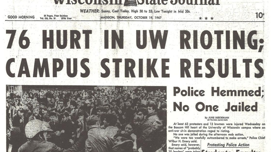 50 years ago, 'Dow Day' left its mark on Madison | Higher education |  madison.com
