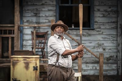 David Alan Anderson as Troy Maxson in Fences at APT