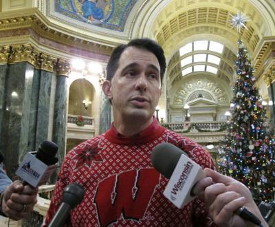 Walker on taxes