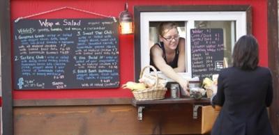 Food Carts, Melanie Nelson, Good Food