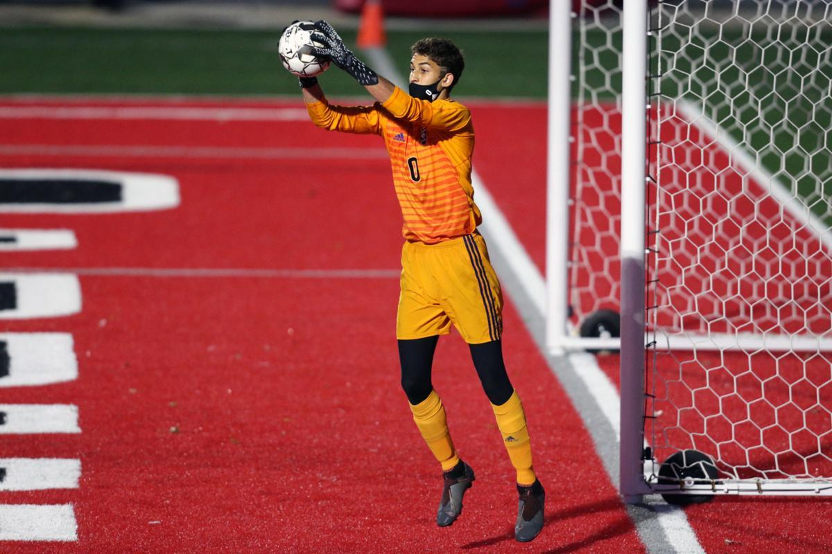 Prep boys soccer photo: Oregon's Coltrane LoBreglio